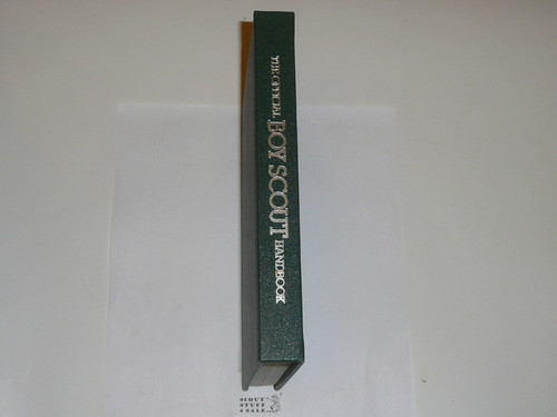 1979 Boy Scout Handbook, Ninth Edition, First Printing, RARE presentation hardbound copy, MINT condition, inscribed by Scout Executive