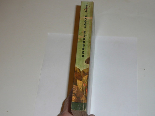 1969 Boy Scout Handbook, Seventh Edition, Fifth Printing, MINT condition, Don Lupo Cover