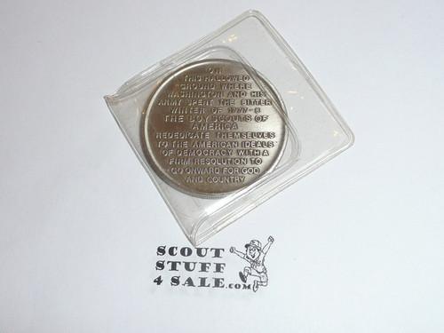 1957 National Jamboree Coin / Token, Chrome Color