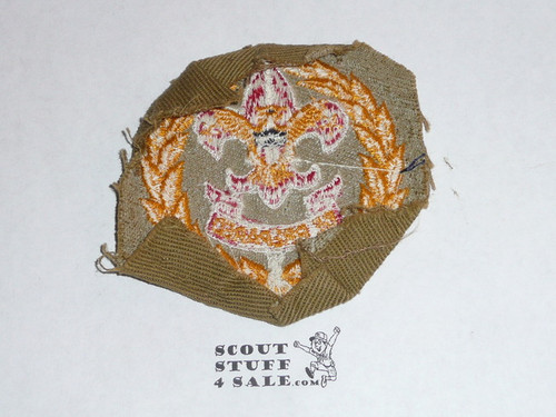 District Executive / Field Executive Patch (FE2), 1939-1945, lt use