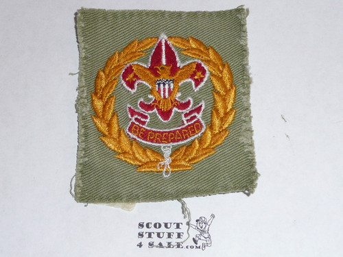 District Executive / Field Executive Patch (FE2), 1939-1945, used #2