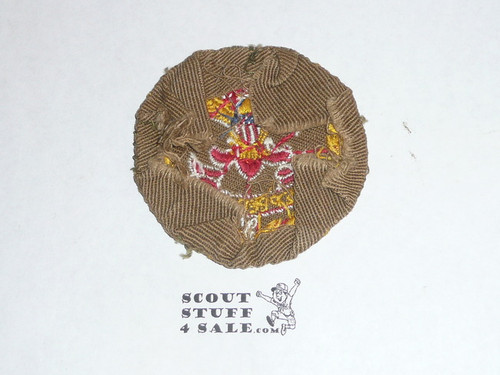 District Executive / Field Executive Patch (FE2), 1939-1945, used