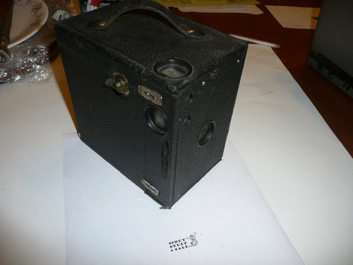 Boy Scout Box Camera, #2c, Seneca Camera Manufacturing Company, Rochester New York