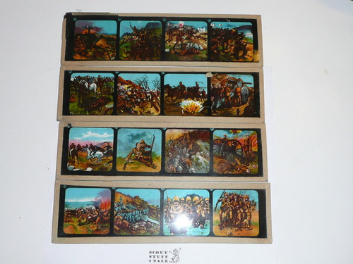 1900's Glass Color Slides Telling the Story of the Transvaal War, Slides 1-48 , complete