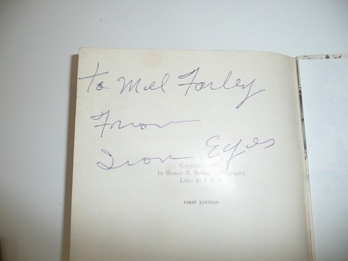 1952 How Indians Sign Talk in Pictures, By Iron Eyes Cody, Signed By Iron Eyes