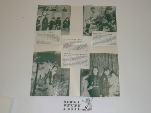 1955 Exploring is for You Pamphlet