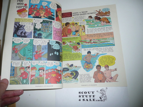 1977 Join the Scouts Comic Book 10-78 Printing