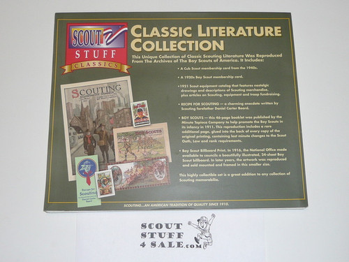 1996 Classic Literature Collection Reprints of Early Scouting Items, Complete