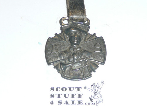 Boy Scout Watch Fob, Relief with Bugle