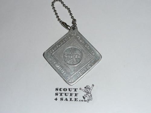 1959 Boy Scout World Jamboree Key Chain
