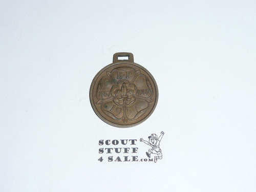 1957 Boy Scout World Jamboree Baden Powell Medal