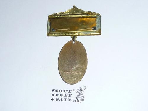 1959 Boy Scout World Jamboree Medal, without ribbon back
