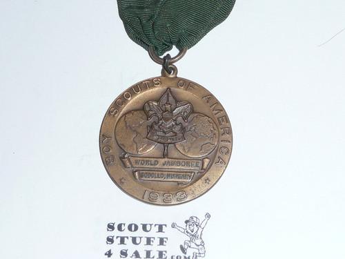 1933 Boy Scout World Jamboree USA Contingent Medal
