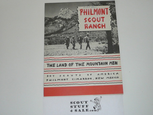 1951 Philmont Scout Ranch Information Packet, Brochure and Reservation Information