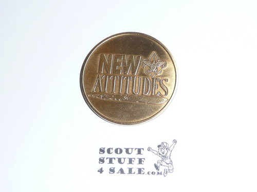 "Western Region ""New Attitudes"" Coin / Token"