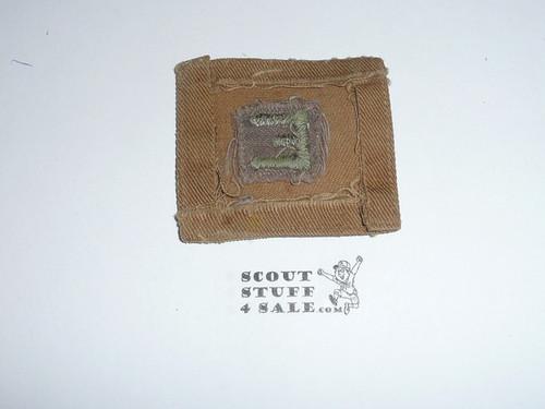"""1930's Efficiency """"E"""" Uniform Patch"""