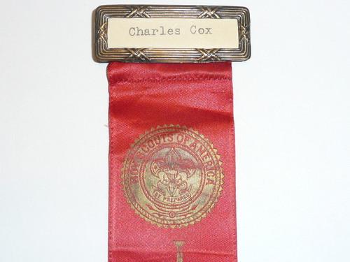 Old Boy Scout Judges Ribbon