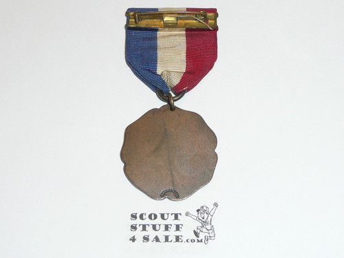 Teen's Diegest & Clust Boy Scout Signaling Contest Medal, Bronze