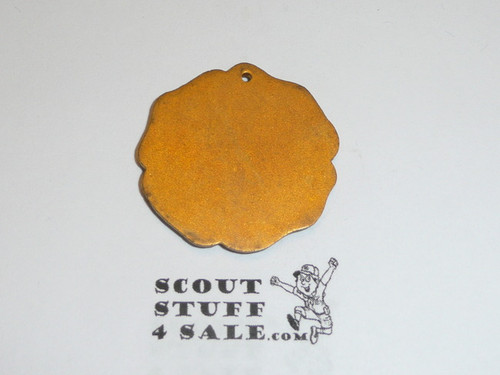 Teen's Diegest & Clust Boy Scout Signaling Medal Pendant, Gold