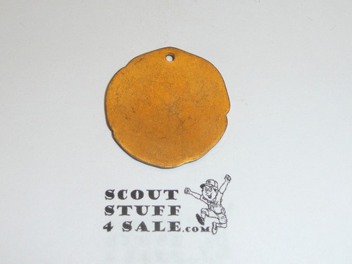 Teen's Diegest & Clust Boy Scout Track Medal Pendant, Gold