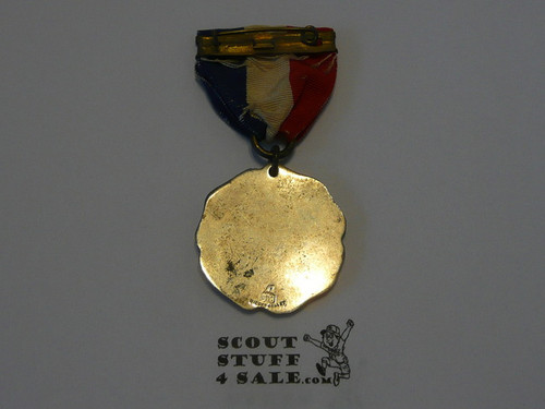 Teen's Boy Scout Silver Contest Medal, Dieges & Clust