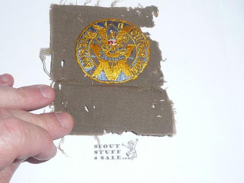 15 Year Veteran Patch, gaberdine wool, mothing and use