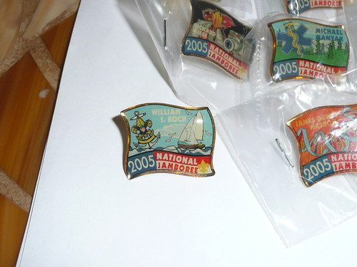 2005 National Jamboree Complete Set of Subcamp Pins