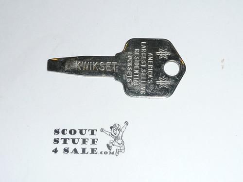 1985 National Jamboree Kwikset Key Fob