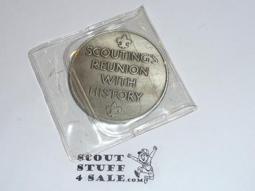 1981 National Jamboree Coin / Token, Chrome Color