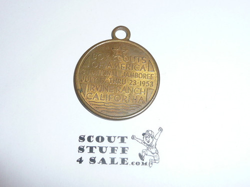 1953 National Jamboree Pendant / Fob