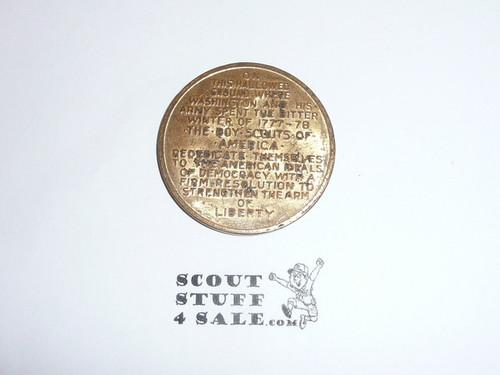 1950 National Jamboree Coin / Token, Gold Color