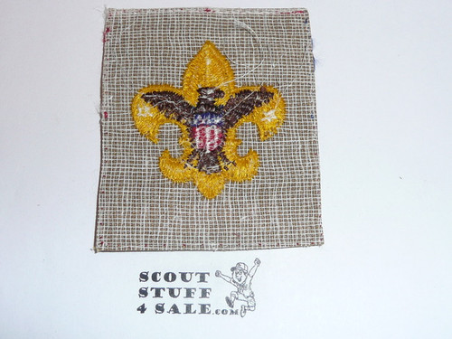 Tenderfoot Rank Patch from the 1953 Mr. Scoutmaster Movie