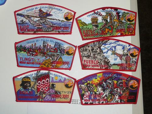 2001 Boy Scout National Jamboree - Oklahoma Troop 16 JSP SET