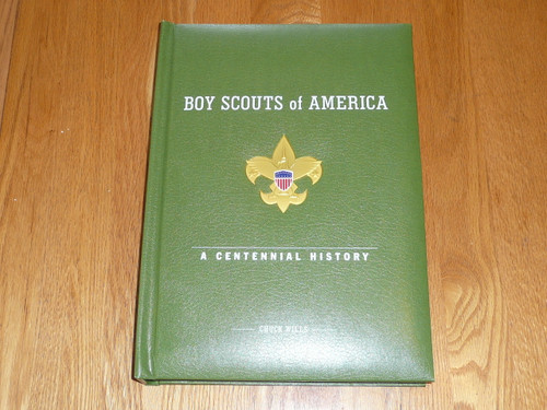 2010 100th Boy Scout Anniversary Commemorative Coffee Table Book, 300 color pages with tons of inserts and great information, NEW, Orig $300