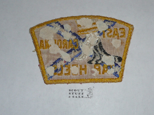 East Carolina Council ta1 CSP 1953 NJ JSP, RARE, never used but spots of glue/paper on the back, book value $1200 - Scout