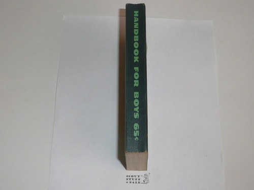 1956 Boy Scout Handbook, Fifth Edition, Ninth Printing, Litely used condition