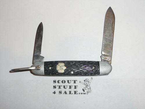 Girl Scout Knife, Utica Manufacturer, Lite use, GS002