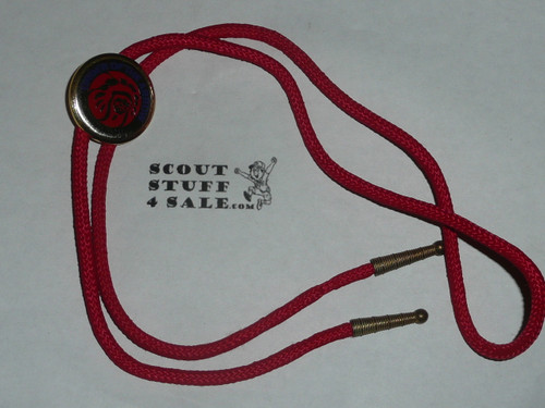 Order of the Arrow MGM Indian Head Logo Bolo Tie