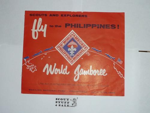 1959 World Jamboree BSA Promotional Brochure