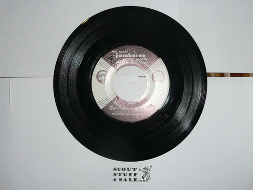 1959 World Jamboree, Jamboree Record Album with Official Song, includes receipt for purchase