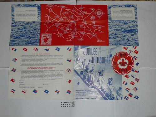 1957 World Jamboree BSA Promotional Brochure