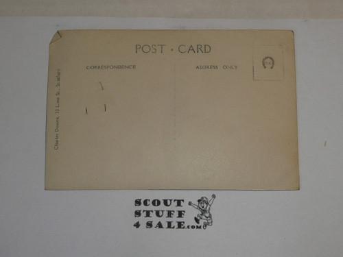 1929 World Jamboree, USA/BSA New York Contingent Picture Photo Postcard
