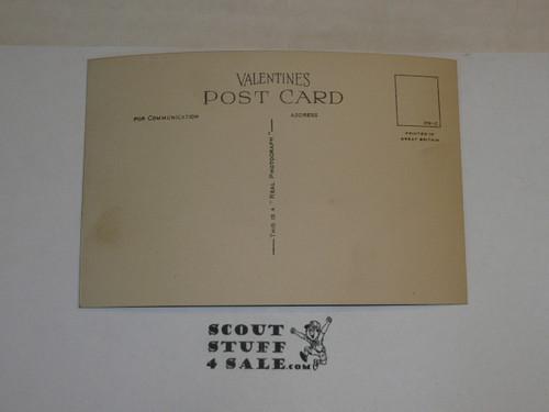 "1929 World Jamboree, Official Postcard ""Arrowe Park"""
