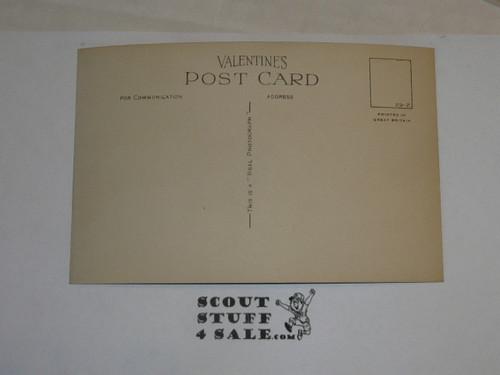 "1929 World Jamboree, Postcard ""Entrance Arrowe Park"""