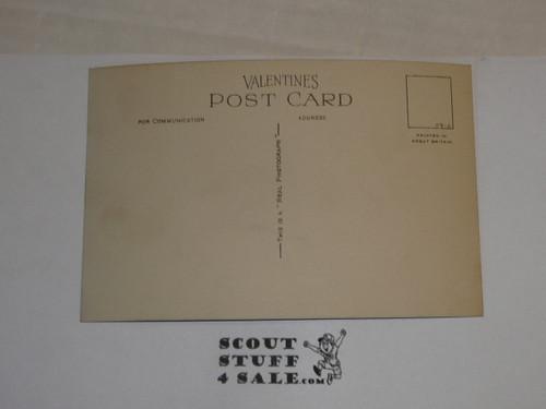 "1929 World Jamboree, Postcard ""The Hall, Arrowe Park"""