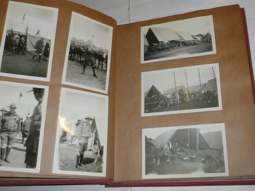 1929 & 1933 World Jamboree, Photo Album from USA/BSA Contingent Member, contains some 1960's photos and other Boy Scout Photos as well