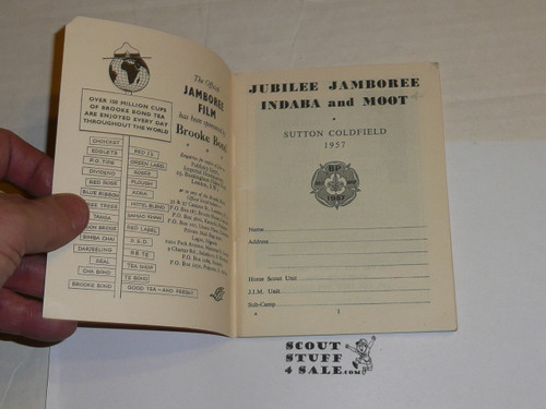 1957 World Jamboree, Jamboree Indaba Moot Handbook and Diary
