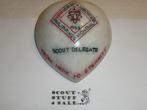 1959 World Jamboree, Scout Delegate Paper Weight
