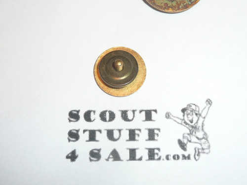 Achievement 1 Pin for Handicapped Scouts, EARLY and RARE, spin back - Scout