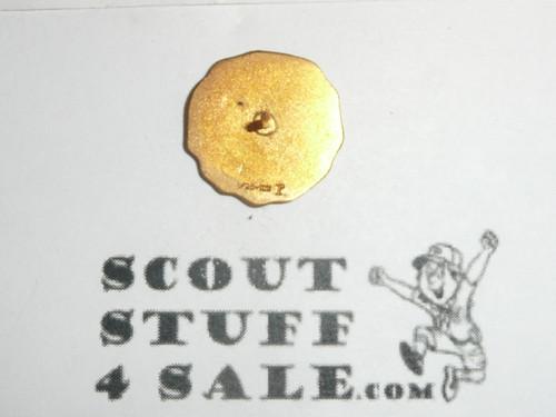 30 Year Veteran Pin, 1940's Issue, 1/20 10k Robbins Hallmark, post back